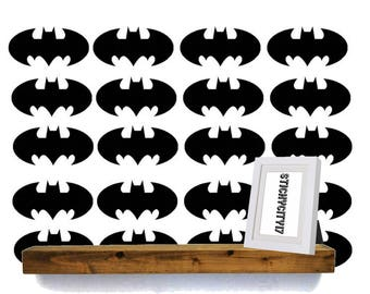 Batman Vinyl Decal Stickers, Removable, Different Sizes