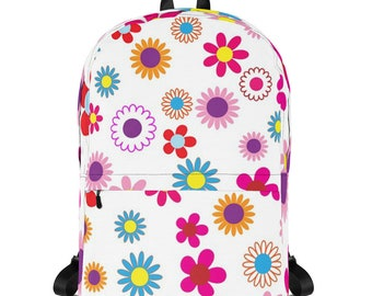 Floral All Over Print Backpack