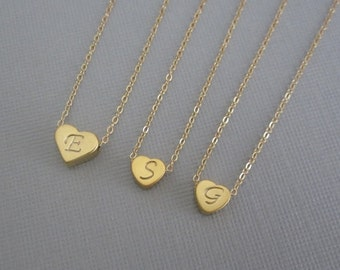 Personalized Gold Filled Necklace Set. Custom Jewelry for Family. Matching Jewelry for Mother and Daughters. Three Sisters. Set of Three