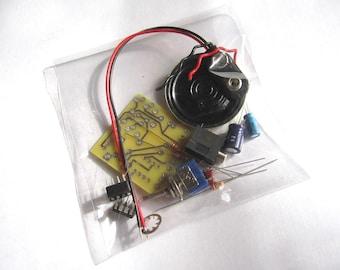 DIY Kit: Portable MP3 Amp w/ Speaker & 10X Gain