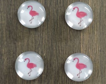 Pink Flamingo magnets
