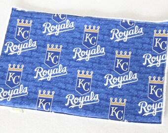 KC Royals, KC Royals Baby, Kansas City Royals, Kansas City Royals Baby, KC Royals Baby Burp Cloth, Royals, Royals Baby, Royals Burp Cloth