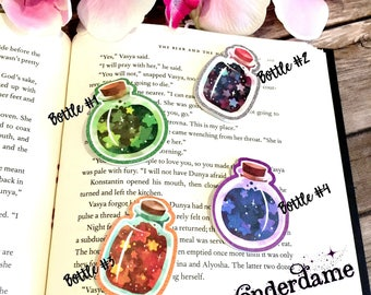 Magic Bottle Bookmarks