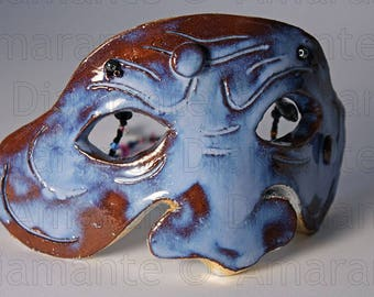 Màskes-Blue Puffin Mask