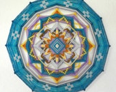 Magic moment, a 24-inch, 12-sided ojo de dios, by Jay Mohler custom order