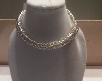 Persian necklace chain maille HANDMADE WITH LOVE