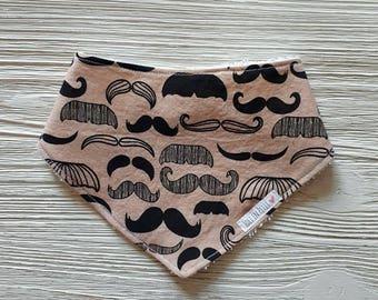 Bib, bandana, scarf, bib, bib, 110f, mustache, beard, mustache, beard