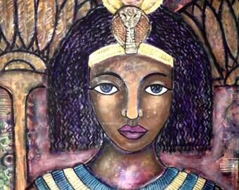 Divine Feminine Print- Egyptian Goddess