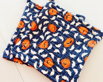 Potholders-Halloween potholders-Pumpkin and Ghost pot holders-gift
