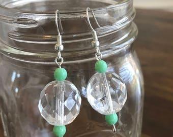 Ball dance earrings