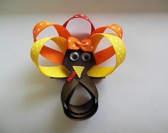 Little turkey hair clip