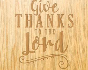 Give Thanks to the Lord - Image Design Library