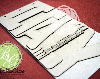 ITALY Scrapbook chipboard album BLANK for memories, gift, photo album, keepsake album, vacation album 6pg
