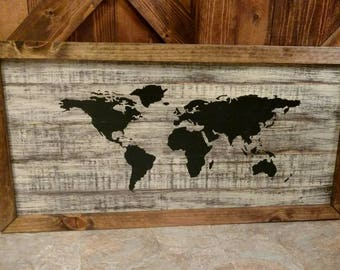 World map pallet etsy gumiabroncs Gallery