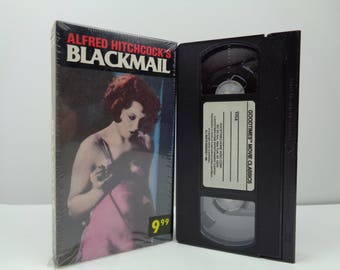 Blackmail VHS Tape