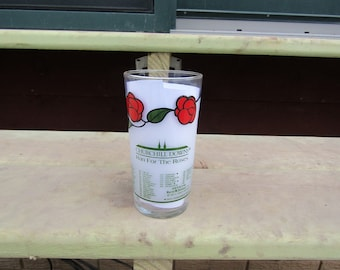 Kentucky Derby. Collectible Glass. from the Churchill Downs. 1986.