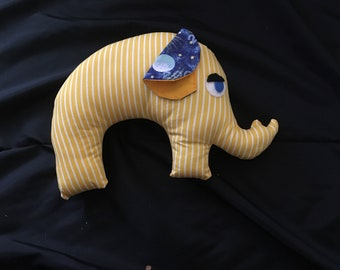 Elephant softie toy