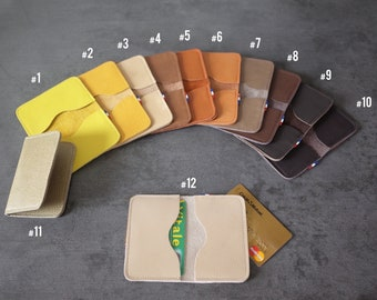 CARD cases - Double - yellow/black