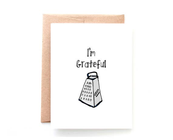 Funny Thank You Card Punny Thank You Card Funny Card