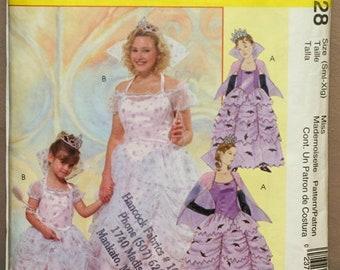 McCalls Princess Fairy Godmother Pattern M4628