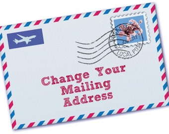 Change my Mailing Address