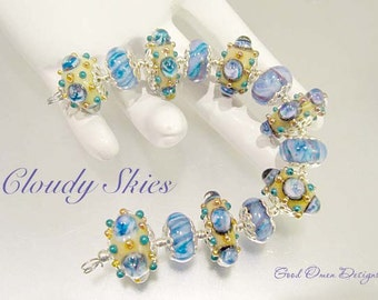 CLOUDY SKIES, a bead set