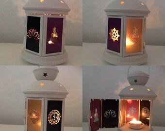Buddha Lantern Candle Holder