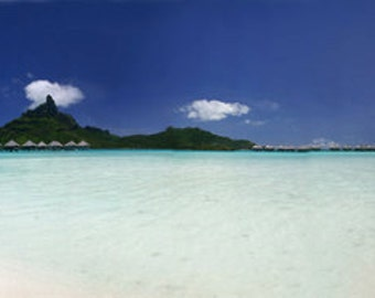 Bora Bora Wall Mural Wallpaper Photo Decor