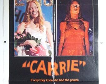 Carrie - 1976 - Sissy Spacek - US one sheet movie poster