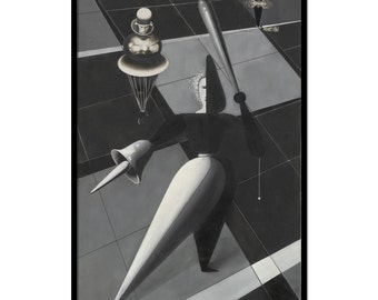 Vintage illustration The Triadic Ballet by Oskar Schlemmer