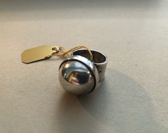 Vintage Sterling Silver Statement Ring