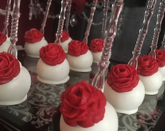 Twilight Saga Inspired Cake Pops