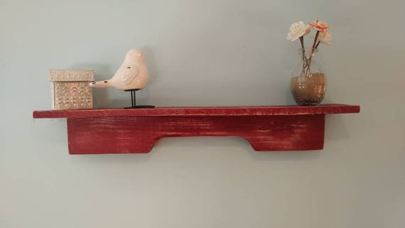 Small shelf made from pallet wood