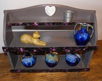 Petite étagère en bois small wooden shelf