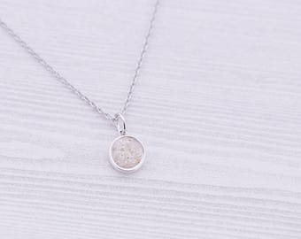 Cremation Pendant - Sterling Memorial Pendant for Ashes - Cremation Jewelry - Engraved Jewelry - Urn Necklace - Pet Memorial - Ash Necklace