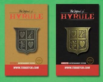 Zelda pin pack - legend of zelda hero crest shield pins nintendo
