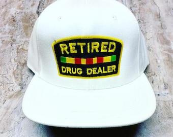 Retired Drug Dealer snap back cap
