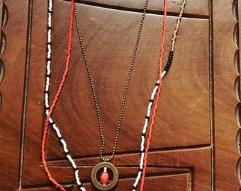 Dalmatian necklace