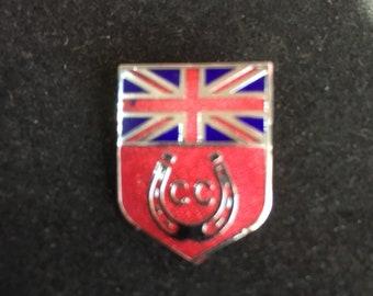Vintage  1960's Caravan Club Badge signed Butler Birmingham
