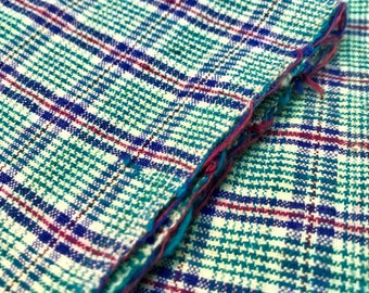 50cm Vintage Textile Art, Antique Cotton Textiles, Vintage Sewing, Textile Collage, Chinese Handwoven Fabric, Original Textile, sashiko #B39
