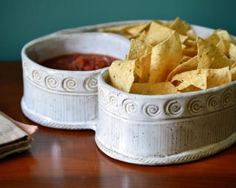 Chip and Dip Serving