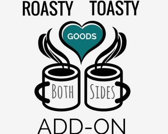 Same Design on Both Sides Add On For Mugs - Please add this listing for each mug you order