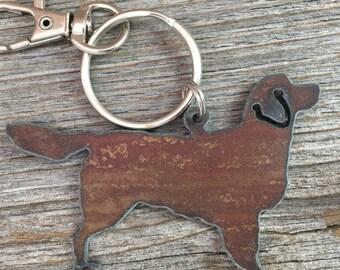 Golden Retriever Keychain, Golden Retrievers Key Chain, Keyring, Key Ring, Dog Lover Gift, Gifts for Dog Mom, Pet Loss Memorial, Dog Lovers