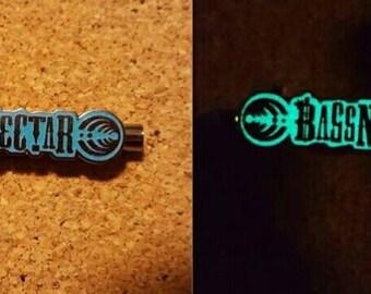 Bassnectar tube hat pin