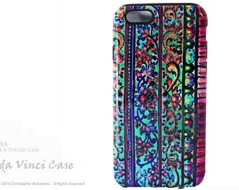 Floral iPhone 6 6s Case - Colorful Case For iPhone 6 - Malaya - Artistic iPhone TOUGH Case Dual Layer Protection