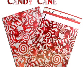"""50-200 Pack -6x9"""" Candy Cane