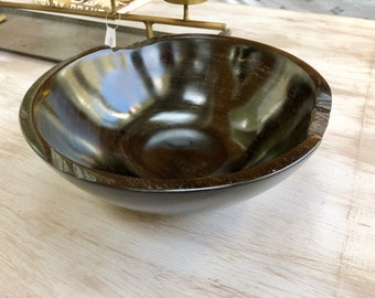 Ebony Gabon Bowl - 10""
