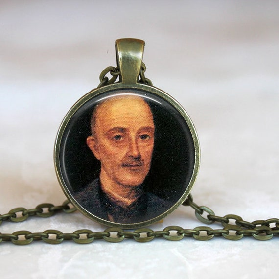 Matt Talbot Pendant - Matt Talbot, Patron Saint of those who struggle with alcohol addiction - Modern day saint necklace