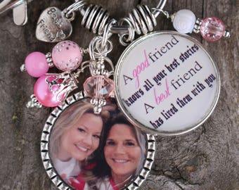 Personalized BEST FRIEND GIFT, Best Friend Key Chain, Personalized Gift for Best Friend, Personalized Best Friend Key Chain, Personalized