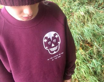 Small Skull Sweater - on the inside we are all the same